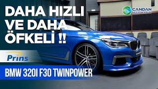 BMW 320i F30 TwinPower & PRİNS VSİ2 LPG ile DAHA HIZLI ve DAHA ÖFKELİ !!