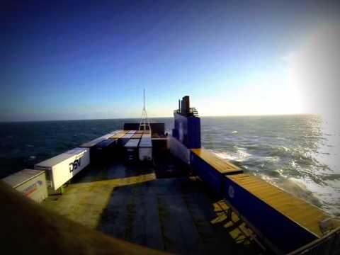 Crossing The North Sea - Denmark To England