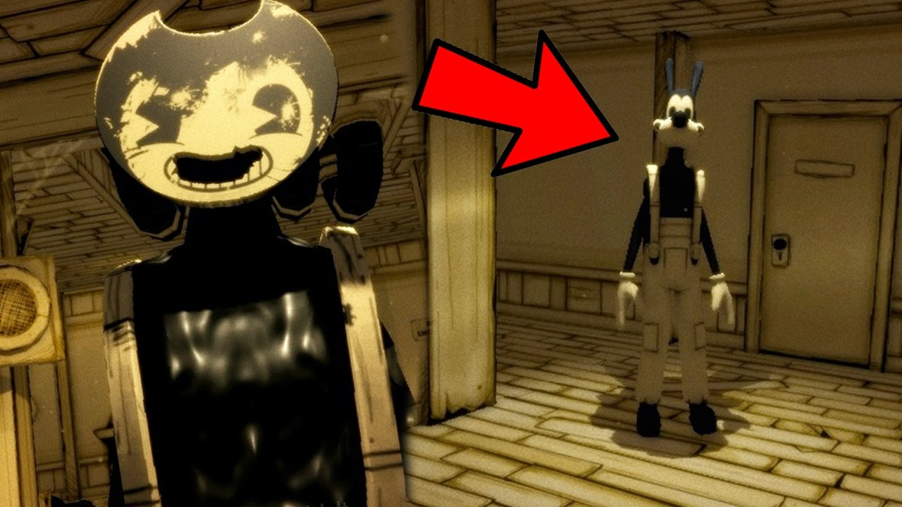 WE FOUND BORIS! | Bendy And The Ink Machine Chapter 2 (Ending)