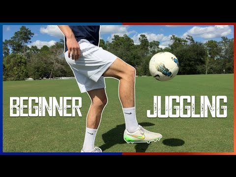 Juggling a Soccer Ball for Beginners  Training