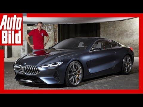 Bmw 8er Concept 2017 Sitzprobe Erste Details Erkl 228 Rung