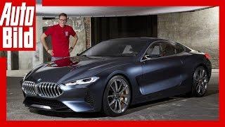 BMW 8er Concept (2017) Sitzprobe/Erste Details/Erklärung/Sound