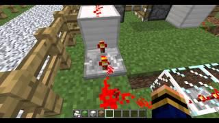 minecraft - random redstone - #41 stair door Resimi