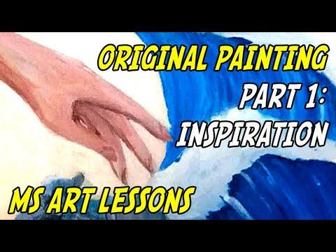 Middle School Art Lessons: Original Painting (part 1)