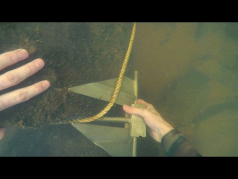 Thumbnail: Freediving in Murky Water for River Treasure! - Anchor, Fishing Tackle, Zipline and More!