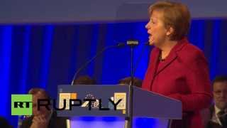 Ireland: Merkel receives standing ovation at final day of EPP Congress
