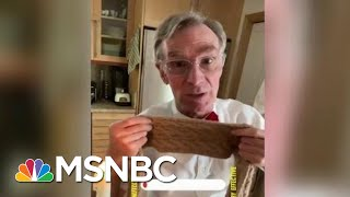 Bill Nye Drops Mask Science On Tucker Carlson's 'Weird Claim' | The Beat With Ari Melber | MSNBC