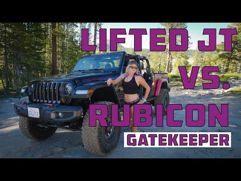 Wildheart vs Gatekeeper Rubicon Trail