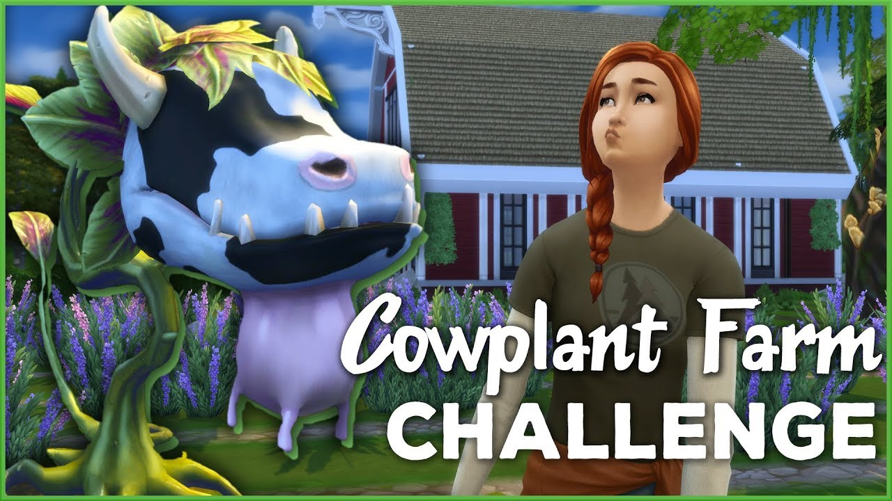 how to get a cowplant sims 4