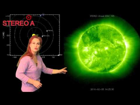 Mini-Solar Storms Keep Us On Our Toes: Solar Storm Forecast 02-11-2016