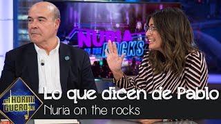 Nuria Roca enseña a Pablo Motos los titulares de sus entrevistas a políticos - El Hormiguero 3.0