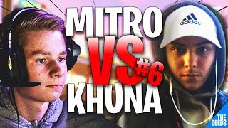Atlantis Khuna 1 VS 1 Atlantis Mitr0 #6 | Fortnite Creative 1v1 *BEST EU PLAYERS*