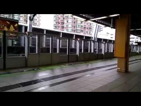 沙中綫東西走廊新列車D397/D398第一城站試車(港鐵中車長客電動列車) - YouTube