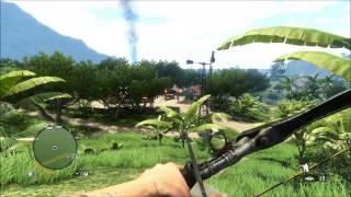 Far Cry 3 - PC Gameplay 1080p  max details - Freeroam + mission