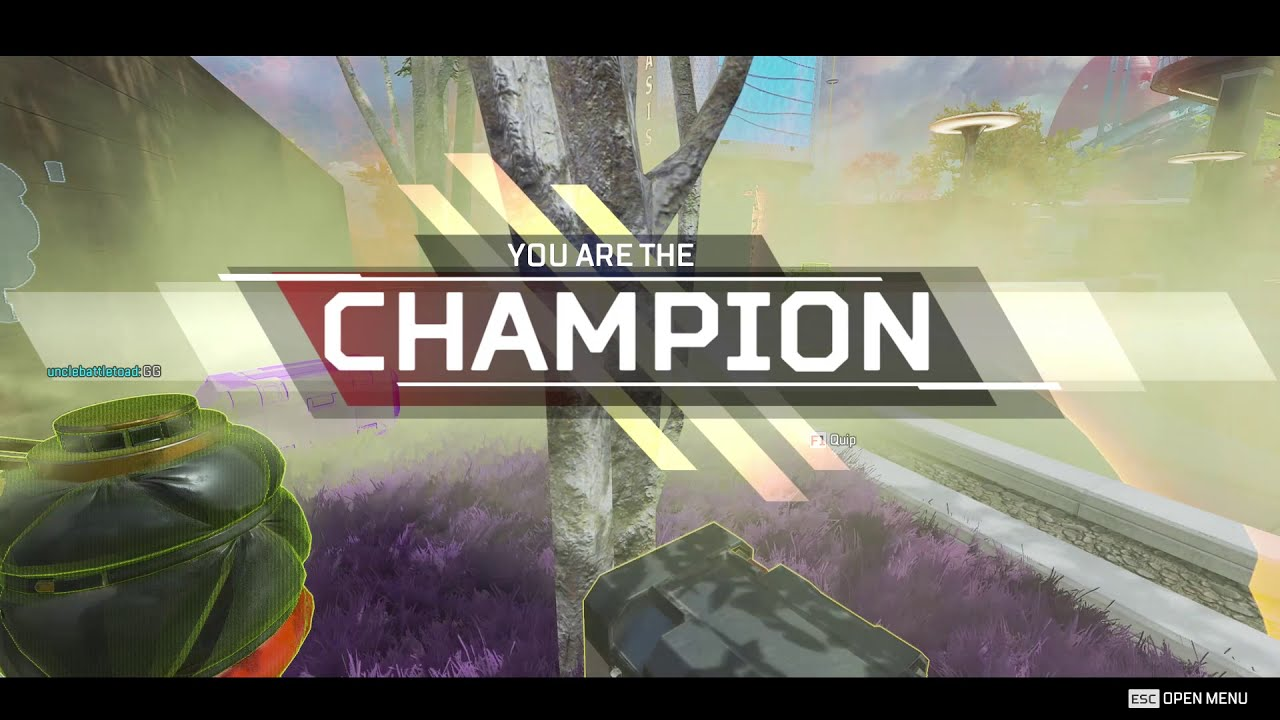 Apex legends how to win with 0 ammo