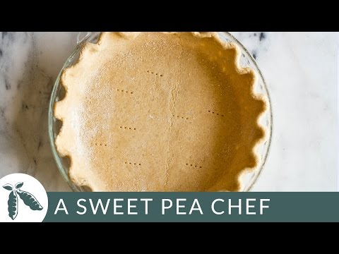 Butterless & Flaky Pie Crust - Easy Dessert | A Sweet Pea Chef