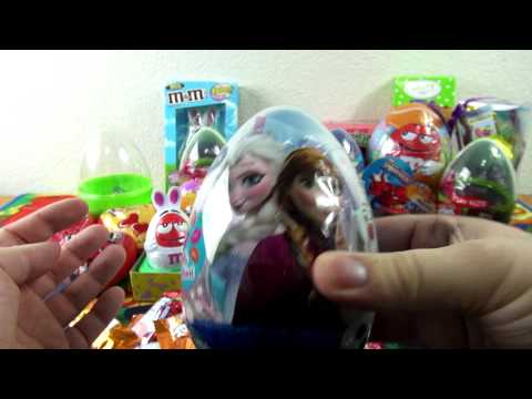 Surprise Eggs With Candy Inside