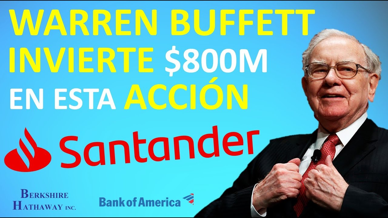 🔥 Warren Buffett INVIERTE en las ACCIONES de este BANCO   👉 3 OPORTUNIDADES de INVERSIÓN