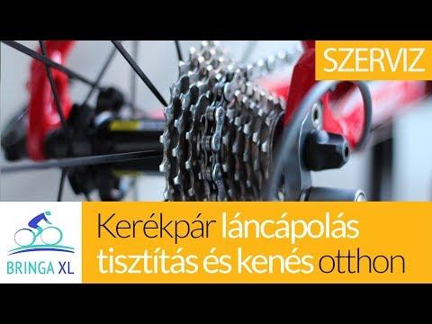 Kerékpár karbantartás olajozás