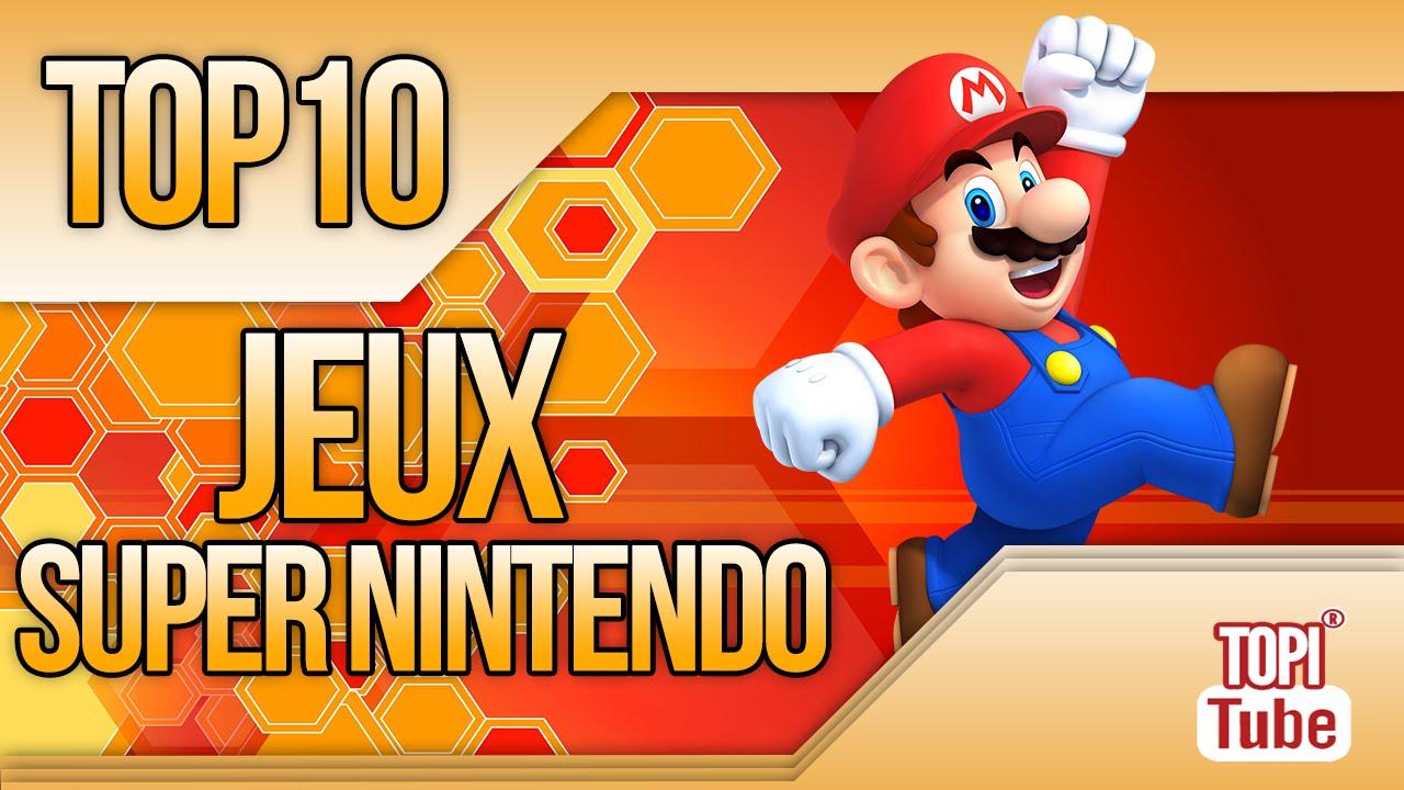 Top 10 Meilleurs Jeux Super Nintendo Snes Games