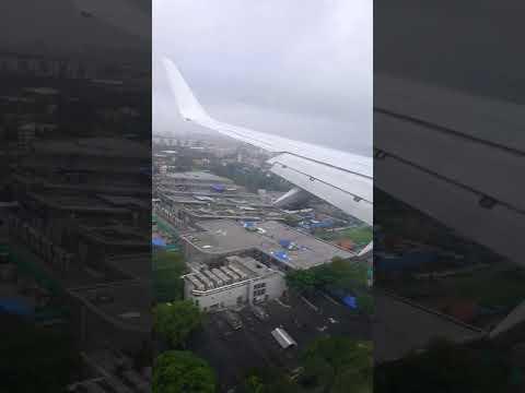 Landing in Bombay - Mumbai Monsoon Morning of 20Aug2017