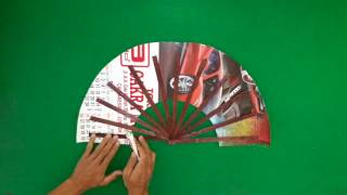 Cara Membuat Kipas dari Kertas Bekas Kalender