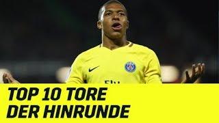 Die Top10 Tore der Hinrunde: Kylian Mbappe und Co. mit Zaubertoren | Ligue 1 | DAZN Highlight