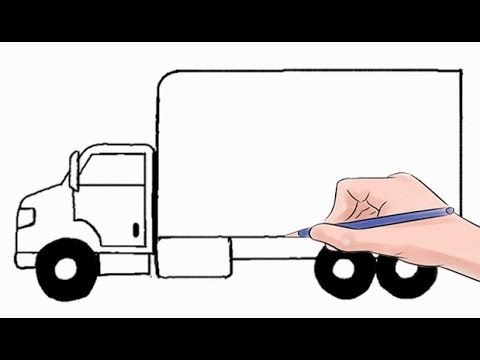 pin drawn car truck 11 how to draw a army truck gusto coloring