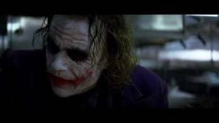 Il Cavaliere Oscuro (The Dark Knight) - Scena del trucchetto di magia