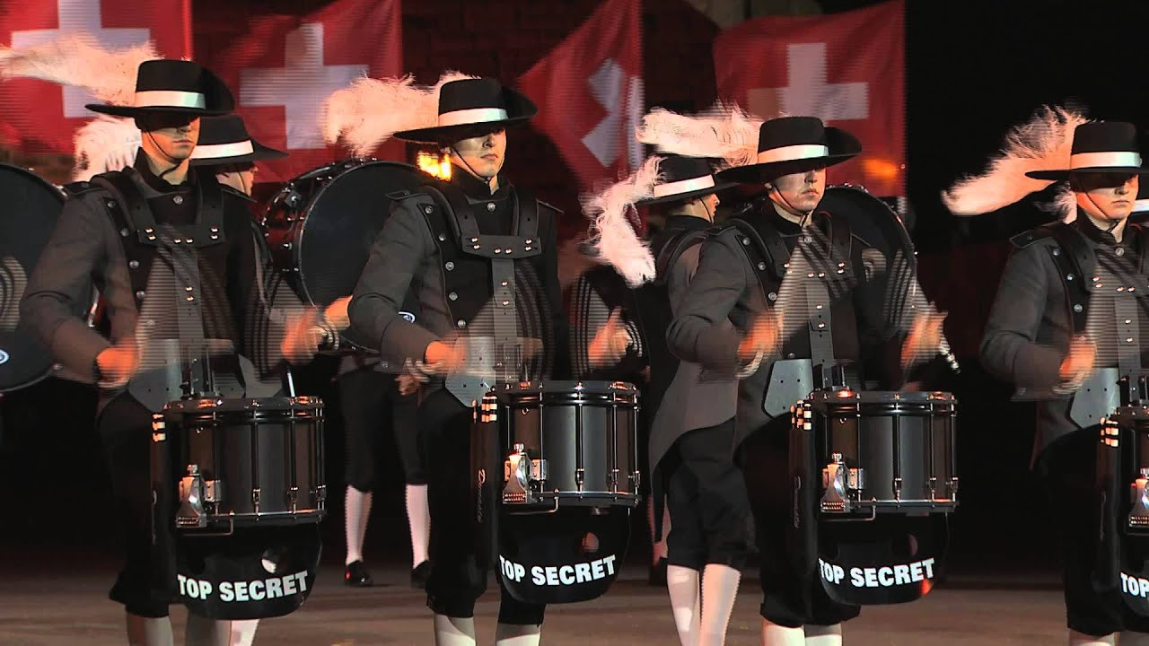 Top Secret Drum Corps @ Royal Edinburgh Military Tattoo