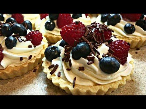 Самые Вкусные ТАРТАЛЕТКИ Рецепты ✪ Тарталетки из СЛОЕНОГО ТЕСТА с начинкой ✪ Fruit TARTLET Recipe