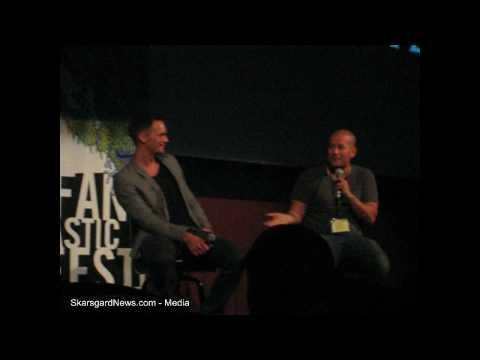 Alexander Skarsgård & Tarik Saleh Q&A from the screening of Metropia.