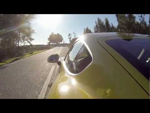 Porsche Cayman S   Driving on a country road