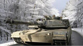 Амерыканскія танкі каля беларускай мяжы | Американские танки у границ РБ
