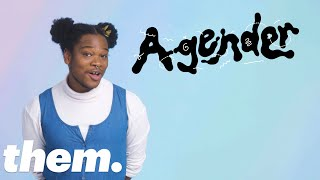 Shamir Explains the History of the Word 'Agender' | InQueery | them.