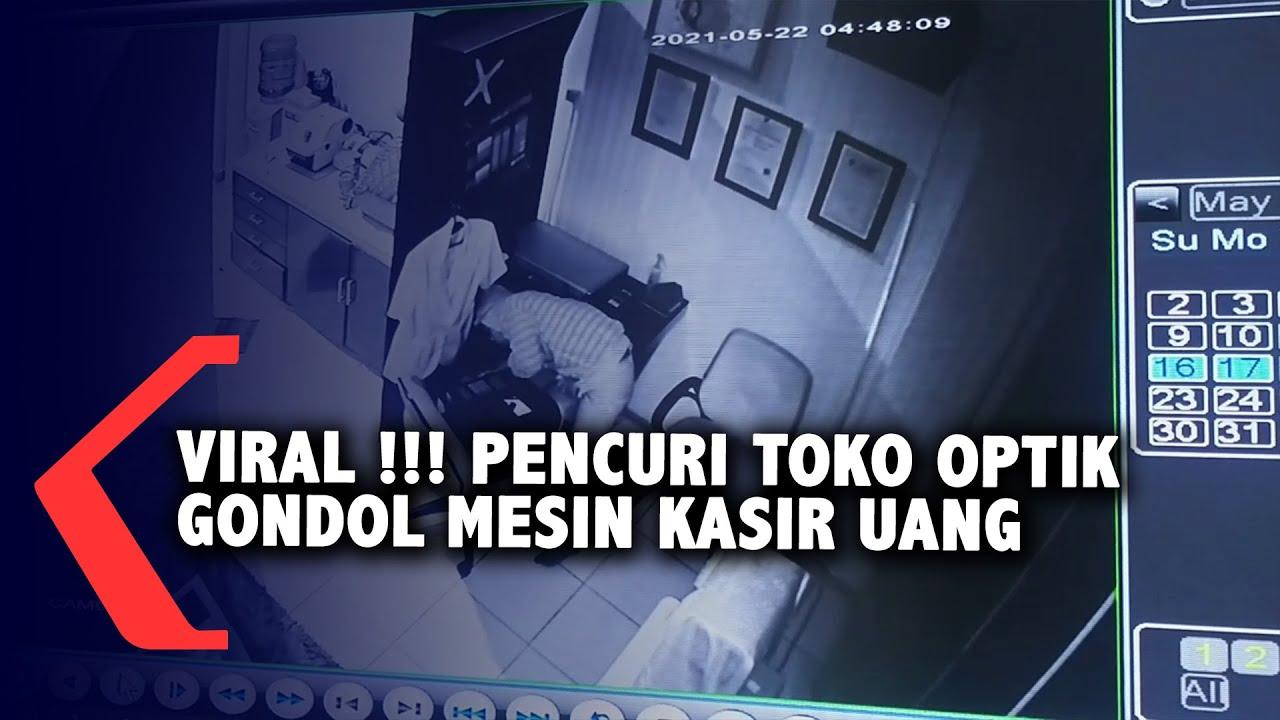 Pencuri Terekam CCTV Dan Viral Di Media Sosial