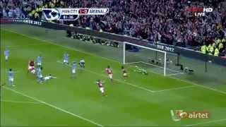Arsenal Vs Manchester City 1-1 Match Highlights