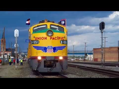 Union Pacific E9 Cheyenne Frontier Days Train 2015 4K