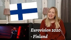 "Eurovision 2020 - Finland - Reaction to Aksel ""Looking Back"""