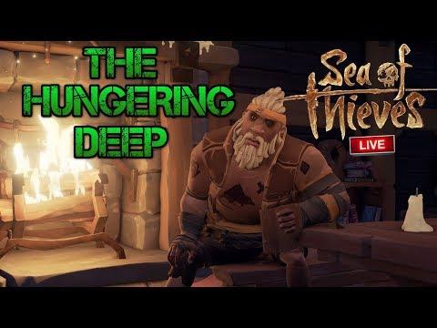 🔴 SEA OF THIEVES LIVE ITA - PROVIAMO LHUNGERING DEEP DLC A TEMPO!!