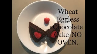 WHEAT EGGLESS CHOCOLATE CAKE FOR BEGINNERS -   IN TAMIL // NO OVEN