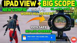 IPAD VIEW+90 FPS BIG SCOPE /PUBG MOBILE VERSION 2.0 /NEW CONFIG FILE 1.3 DEVICE ,VIVO V 17 PRO screenshot 5