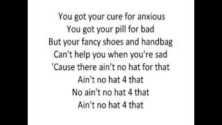 Robin Thicke-Ain't No Hat 4 That (Lyrics On Screen)