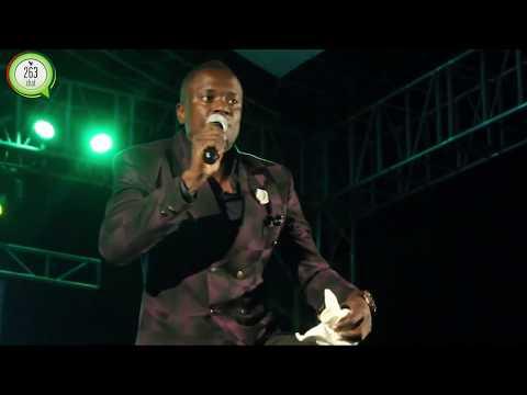 Tatenda Mahachi  performing at ZTA Bigtime Carnival Launch #263Chat