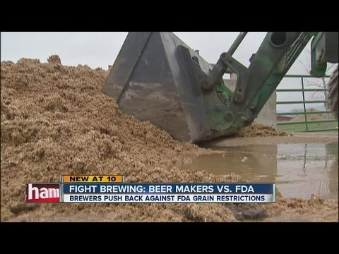 Brewers oppose FDA's new rule on spent grains
