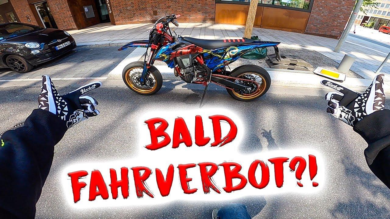 Motorrad-Fahrverbot