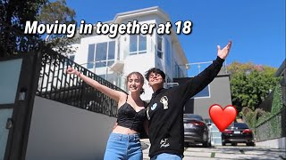 WE MOVED IN TOGETHER! *at 18 years old*