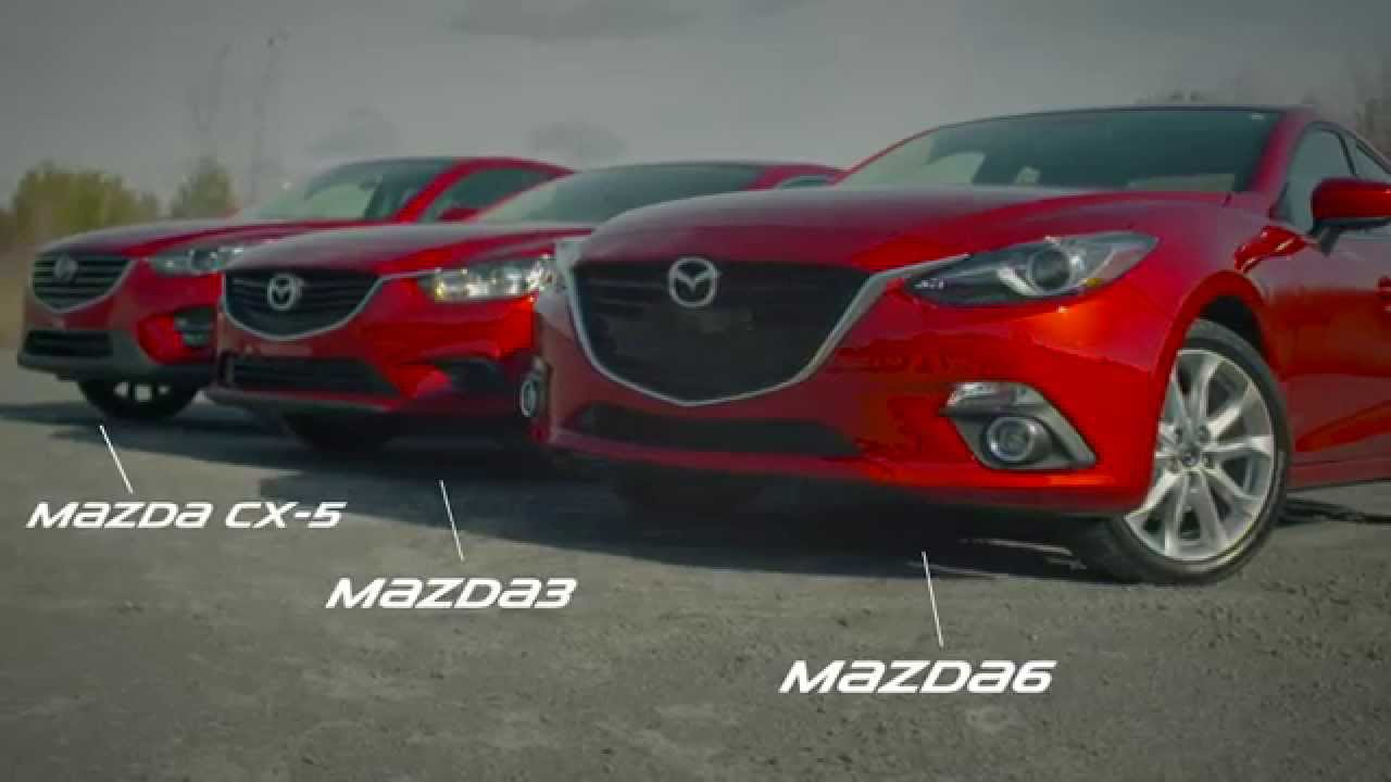 Mazda 3 Vs 6 >> 2016 Mazda Cx 5 2016 Mazda3 And 2016 Mazda6