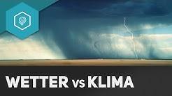 Was ist Klima? Was ist Wetter? Unterschied - Klima & Wetter Grundlagen 1 ● Gehe auf SIMPLECLUB.DE/GO