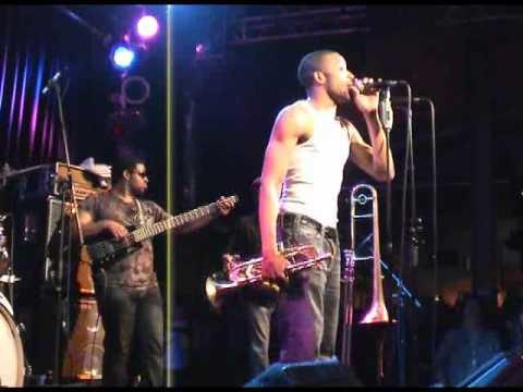 Trombone Shorty & Orleans Avenue - St. James Infirmary- live - 2011